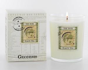 Geodesis Black Tea Scented Candle - Design Essentials