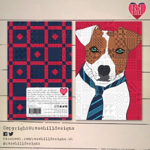 Design Essentials Jack Russell Note Book by Rose Hill