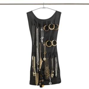 Design Essentials Little Black Dress Jewellery Organiser Back