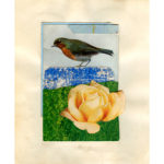 michelle-thompson-bird-with-yellow-rose-wall-art