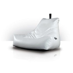 MonsterB Indoor Bean Bag White