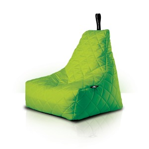 MightyB Quilted Outdoor Bean Bag Lime