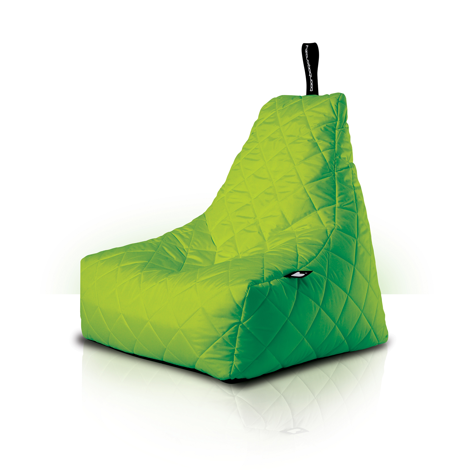 MightyB Outdoor Quilted Bean Bag Lime Green