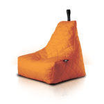 MightyB Quilted Outdoor Bean Bag Orange