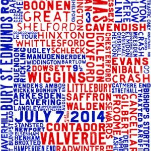 Special Edition A1 Tour De France Print | Design Essentials
