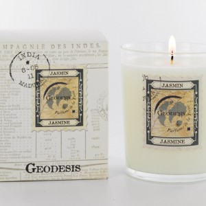 Geodesis Jasmin Scented Candle - Design Essentials