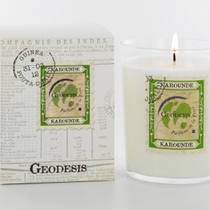 Geodesis Karounde Scented Candle - Design Essentials