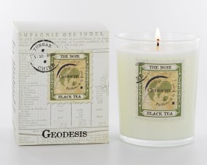 Geodesis Black Tea Scented Candle - Design Essentials mother's