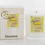 Geodesis Verbena Scented Candle - Design Essentials