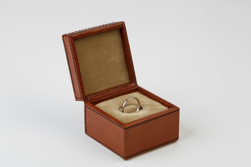 Leather Ring Box 40