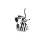 design essentials elephant ring holder in chrome by umbra
