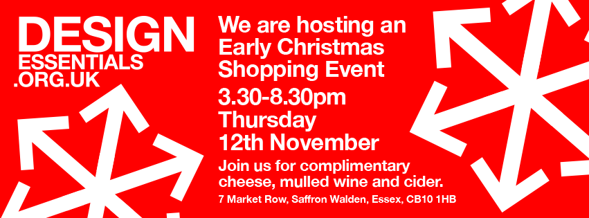 Design Essentials are hosting an Early Christmas Shopping Event on November 12th