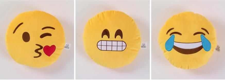 Quirky Emoji Cushions