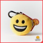 Emoji Keyring with Happy Smile Face from Design Essentials in Saffron Walden