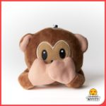 Emoji Keyring Monkey - see no evil, hear no evil, speak no evil from Design Essentials, Saffron Walden