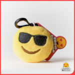 cool shades emoji keyring