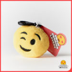 Emoji Keyring with Wink Face from Design Essential in Saffron Walden