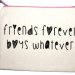 friends forever boy whatever make up bag from design essentials