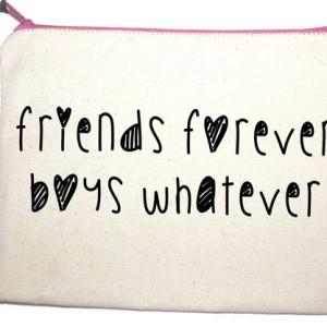 friends forever boy whatever make up bag from design essentials