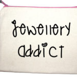 Jewellery Addict make up bag by lola and gilbert from design essentials