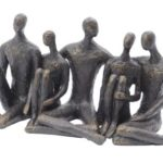 sitting companions sculpture from Design Essentials Saffron Walden