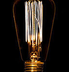 Vintage Squirrel Cage Bulb from design essentials in Saffron Walden