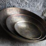 Akel Etched Bowl Medium from Design Essentials in Saffron Walden
