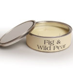 Fig and Wild Pear Scented Candle Large Filled Tin