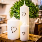 Heart Candle Jewellery from Design Essentials
