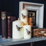 Pheasant Candle Jewellery - Silver Finish