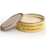 Summer Fruit and Prosecco Large Candle Large