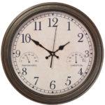 Wedmore Clock Antique Bronze