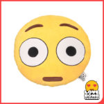 OMG shocked face emoji cushion from Design Essentials, Saffron Walden