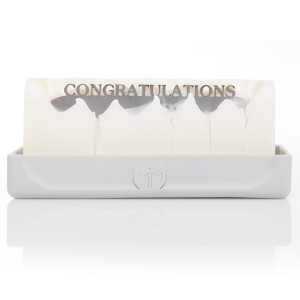 Congratulations Melting Messages Candle
