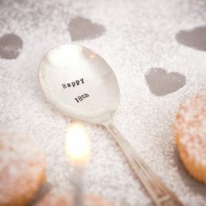 Happy 18th Teaspoon