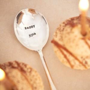 Happy 30th Teaspoon