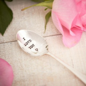 I Love You Teaspoon from design essentials