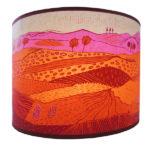 pink Landscape pendant