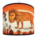 Lion Lampshade by Lush Designs from Design Essentials in saffron walden