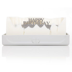 Melting Messages Happy Birthday Candle