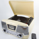 Memphis Cream GPO Record Player