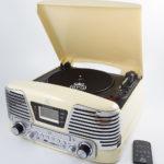 Memphis Cream GPO Record Player