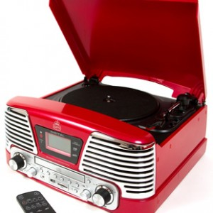 Memphis GPO Record Player Red