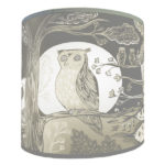 Owl Lampshade from design essentials in saffron walden by lush designs