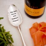 This Home Runs on Love, Laughter & Prosecco Serving Spoon