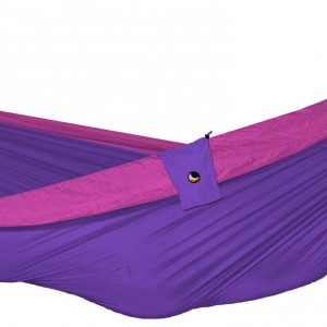 Kingsize hammock from Design Essentials, Saffron Walden. Available in assorted colours.