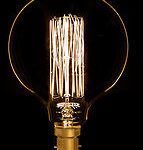 Vintage style large globe bulb with bayonet fitting from Design Essentials