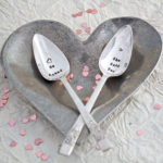 he asked / she said yes teaspoon set