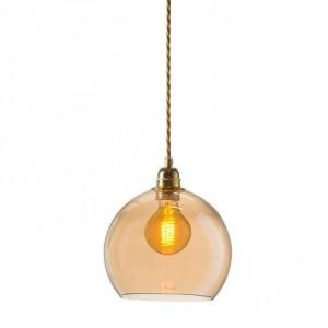 Small Golden Smoke Rowan Pendant Light