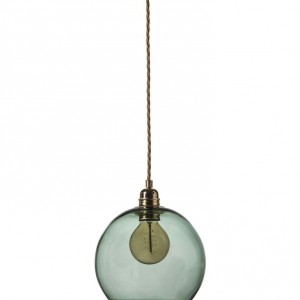 Large Forest Green Rowan Pendant Light design essentials